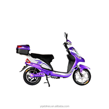Cheap 350W 48V Electric Moped Motorcycle with Pedal for Sale