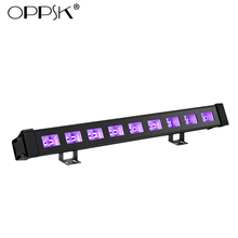 OPPSK 9x3W IP65 Waterproof UV LED Black Light Bar for Halloween Decoration