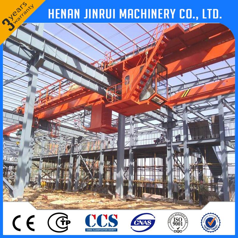 New Arrival Oem Overhead Travelling Crane 50 Ton