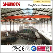 Solar Water Heater Factory Lift and Lower Objects Overhead Crane Busbar