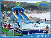 pvc inflatable water slide / inflatable pool water slide / inflatable slide water slide