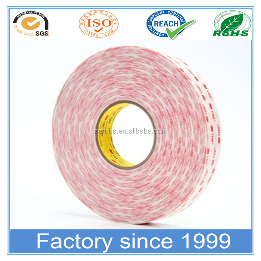 Hot Sale Spray Bonding Vhb Double-Side Acrylic Adhesive Foam Tape