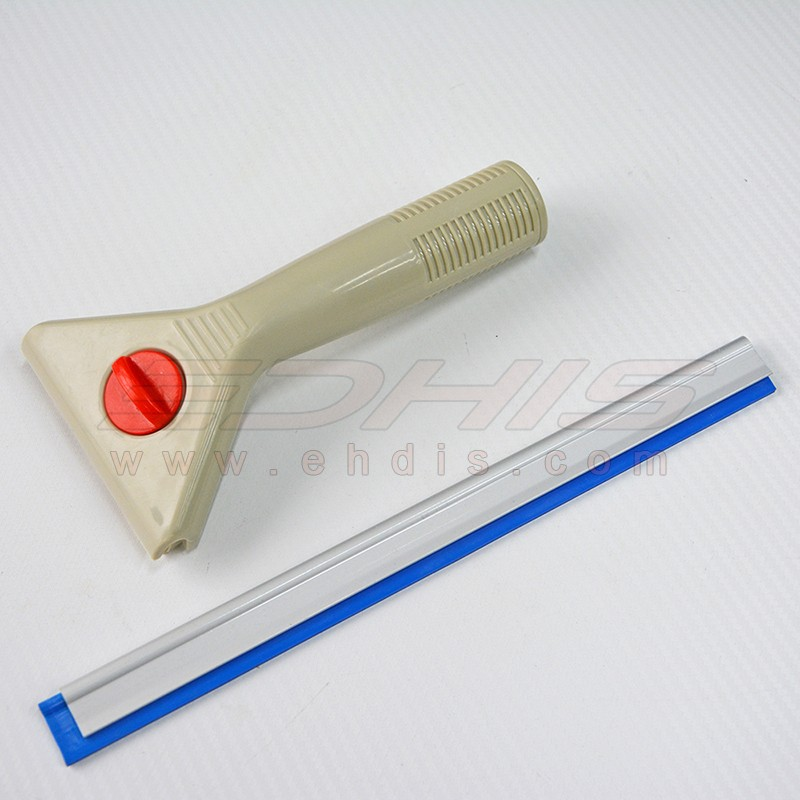 A84 window clean scraper plastic handle with nylon fasten screw squeegee tool
