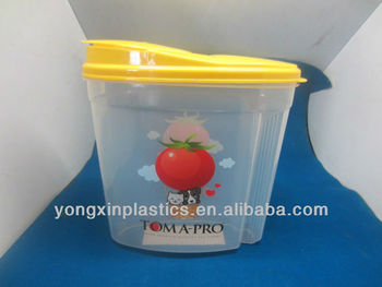 4.5L plastic dog food container