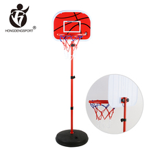 1.6M adjustable cheap mini fitness sport toys basketball set kids for sale