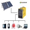 Bluesun home solar power system 220v 230v 240v output 1000w solar panel kit