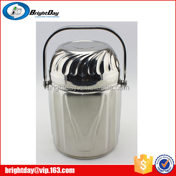 stainless steel medium size food carrier with bowl indian tiffin