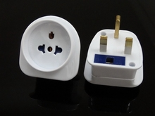 American /USA/Australia/schuko/Euro to UK travel adaptor plug