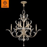 Luxury Antique Pendant Lighting Products Vintage Chandelier Crystal Chandeliers Ceiling Hanging Lamps