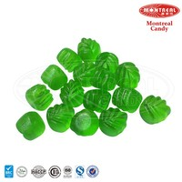 Halal leaf shaped candies