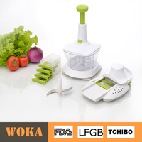 2016 amzon high quality plsatic multi food processor