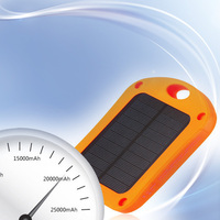 Portable power bank solar battery pack mobile charger for wall lamp