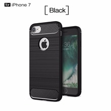 Custom Made Frosted Armour Carbon Fiber Cell Phone Case for iphone X/8/7, Mobile Phone Protect Shell