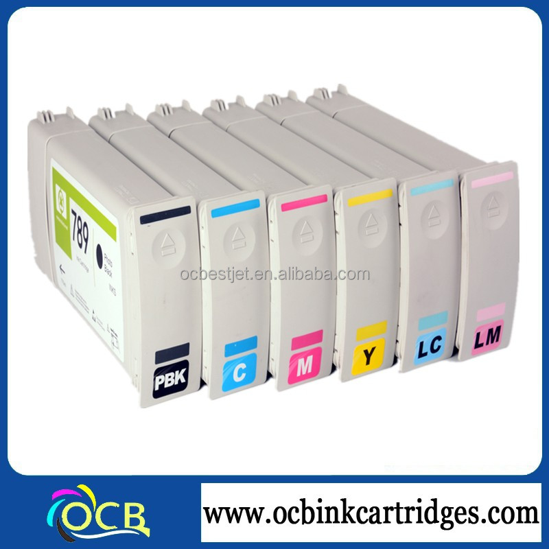 Ocbestjet Recycled Ink Cartridge For HP 789 Compatible Ink Cartridges For HP Latex L25500 Compatible Cartridge