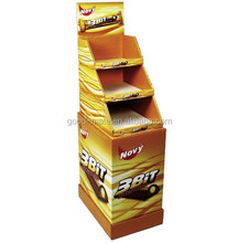 Advertising Chocolate Cardboard Display Boxes for Brand Promotions Countertop Display for Chocolate