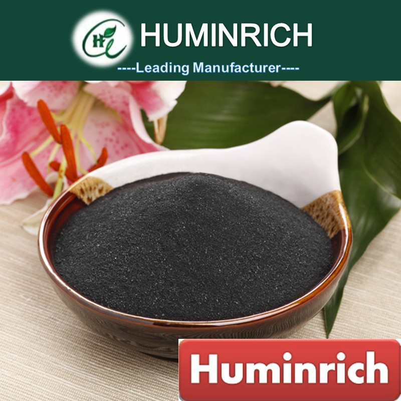 Huminrich Organic Soluble Black Brown Powder Seaweed Fertilier