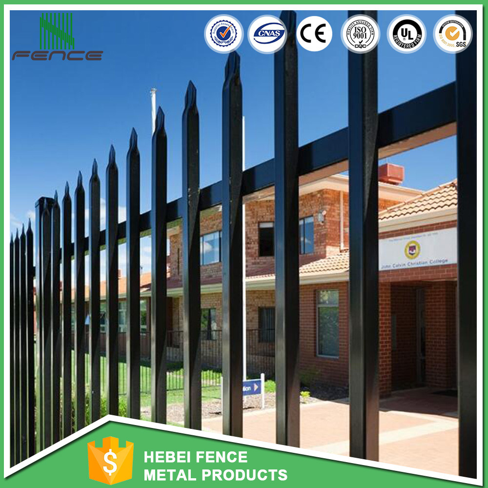 Fixable aluminum gates and steel fence design / grass fence / gate grill fence design