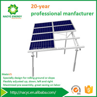 3000W Solar Panel Mounting Bracket Ground Off Grid