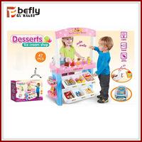 B/O ice cream maker toy with dessert