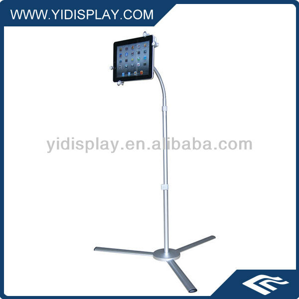 Floor stand for ipad stand
