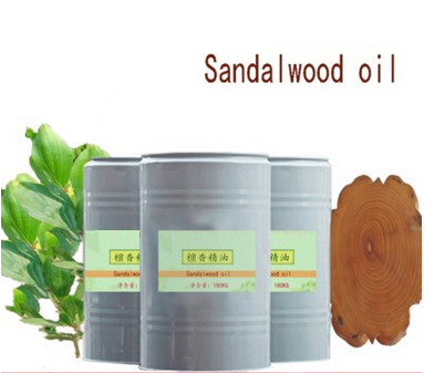 100% natural pure sandalwood essential oil