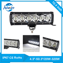 High quality multi functional 10.4inch 12 10inch 60w 12v led light bar fire truck for offroad 4x4