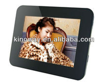 3.5inch ABS digital photo frame 5V rechargeable battery