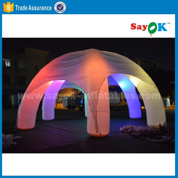 high quality inflatable disco dome tent spider tent for party