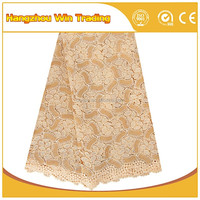 China market dubai embroidered different kinds lace fabric gold with rhinestones