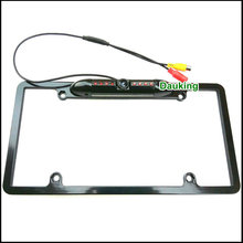 License Plate Frame Car Rear View Camera for All European USA Cars EU car number frame backup camera Add to My F