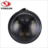 Hamburger LED Head Light 7 inch head lamp with drl ring for jeep wrangler