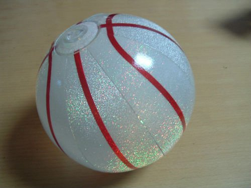 Hot sale Inflatable customizable PVC inflatable glowing beach ball Provided by China supplier