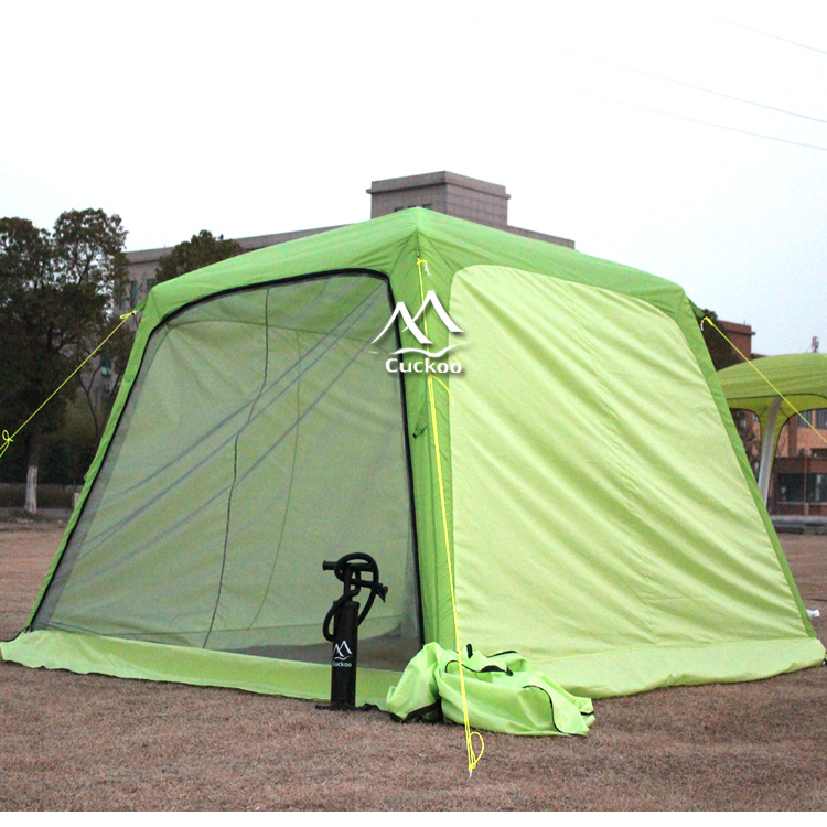 waterproof polyester facet 3x3 meter easy set up small party tent with moveable doors