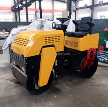 Top Quality double drums 1 ton Hydraulic Vibratory Road Roller