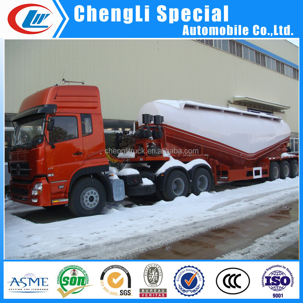 3 axle powder material transport vehicle