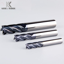 15 years factory directly supply milling tools 4 flutes carbide endmill for cnc milling machine metal