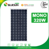 Bluesun high efficiency 300w 320w monocrystalline solar module for sale