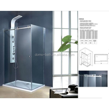 DOMO custom made 6mm framless shower room