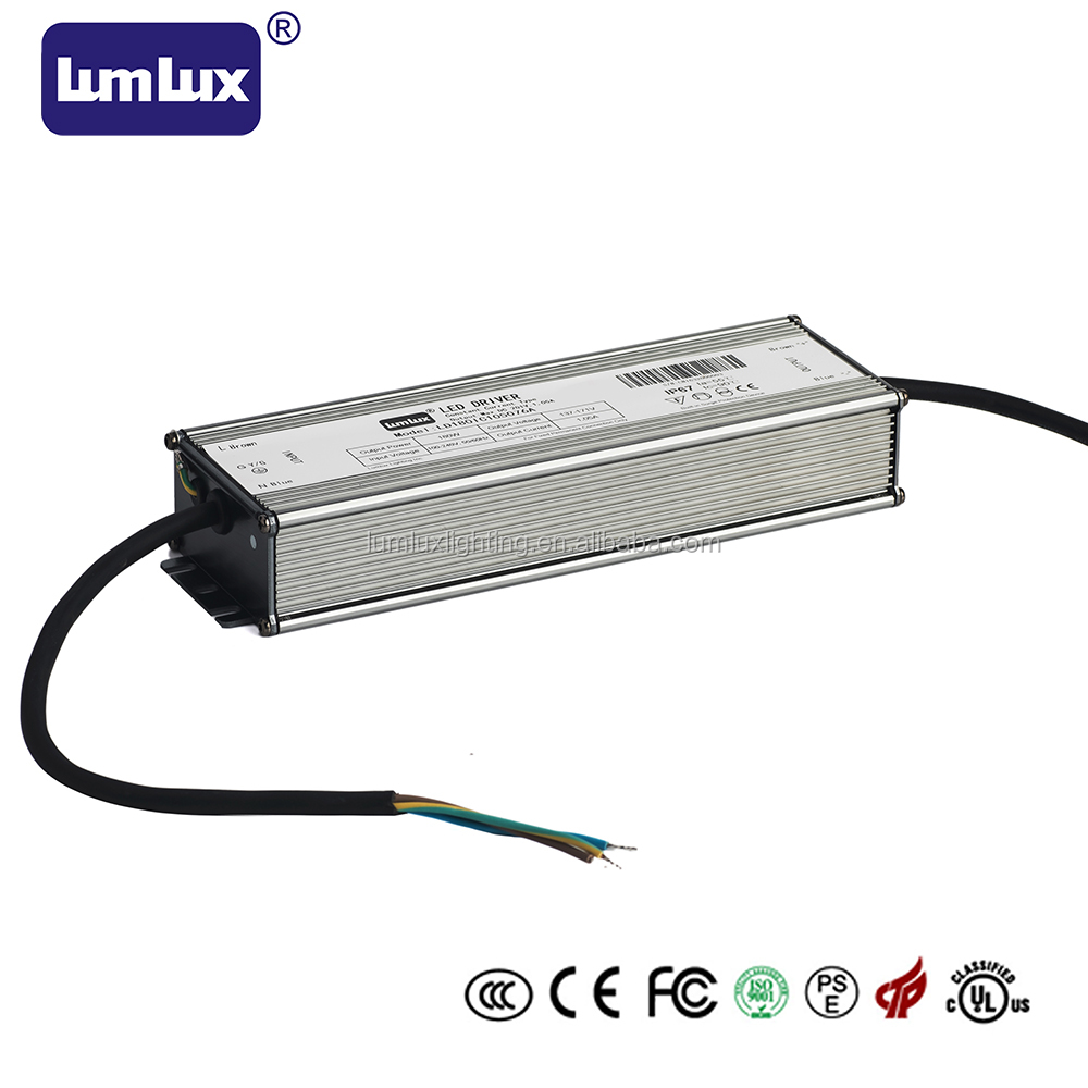 180W Waterproof Led driver /Led Power Supply IP67