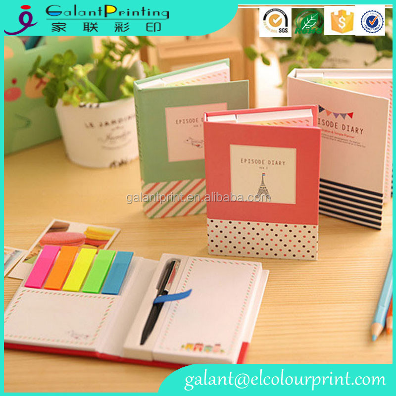 Factory Price Paper Stationery Notebook Notepad Printing