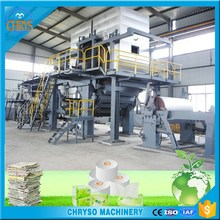 Complete Toilet Tissue Paper Making Machine Production Line