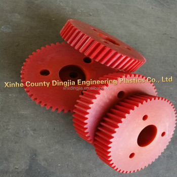 Nylon gear for sale of various sizes and colors, industrial gear