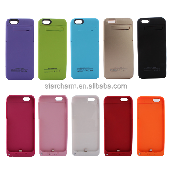 High capacity Battery charger for phone case For iPhone 5/5s/5c/se battery leather case