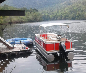 16ft Aluminum Pontoon Boat Party Boat Suit for Container Load
