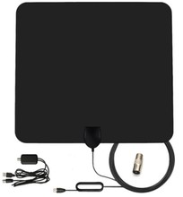 Flat HD Digital Indoor Amplified TV Antenna -50 Miles Range TV ISDB-T ATSC DVB-T DVB-T2 HDTV antenna
