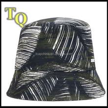 green cheap floral tie dyed cool blank bucket hats for men