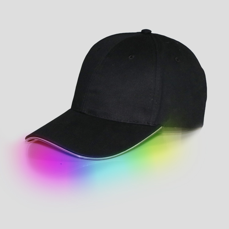<strong>3</strong> Modes Glowing Hat Unisex Ultra Bright Light LED Baseball Cap Hat Adjustable Perfect for Party Hip-Hop Running Hunting Jogging