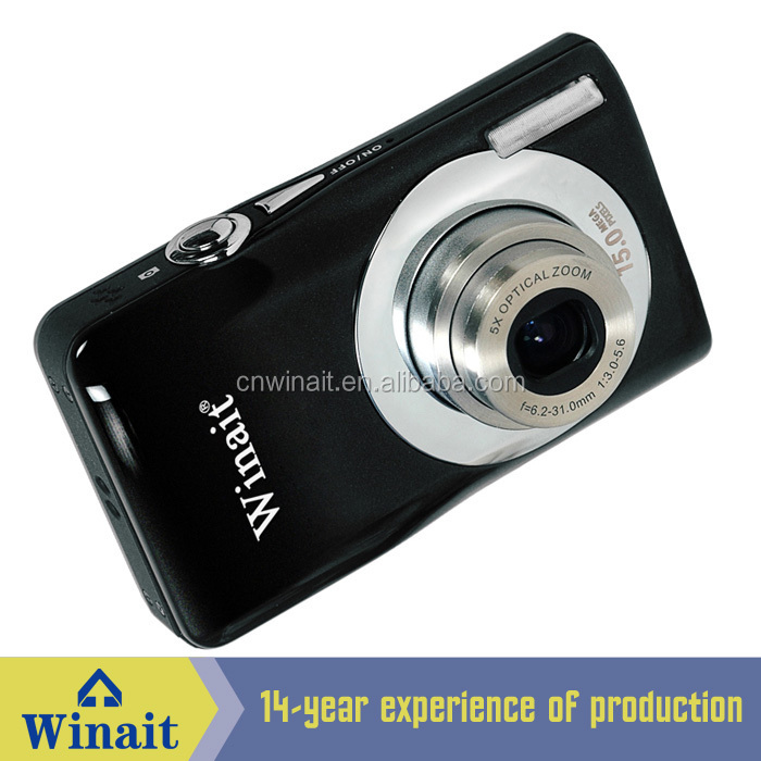 "DC-V100 15 MP MAX/2.7"" TFT LCD digital camera with 5X optical zoom digital camera with bluetooth transfer"