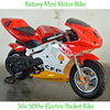 36V Powerful Motorcycle Kids Pocket Bike 350W from Factory