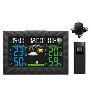 YD8270A-3 Wireless Weather Forecast Station with thermometer Clock